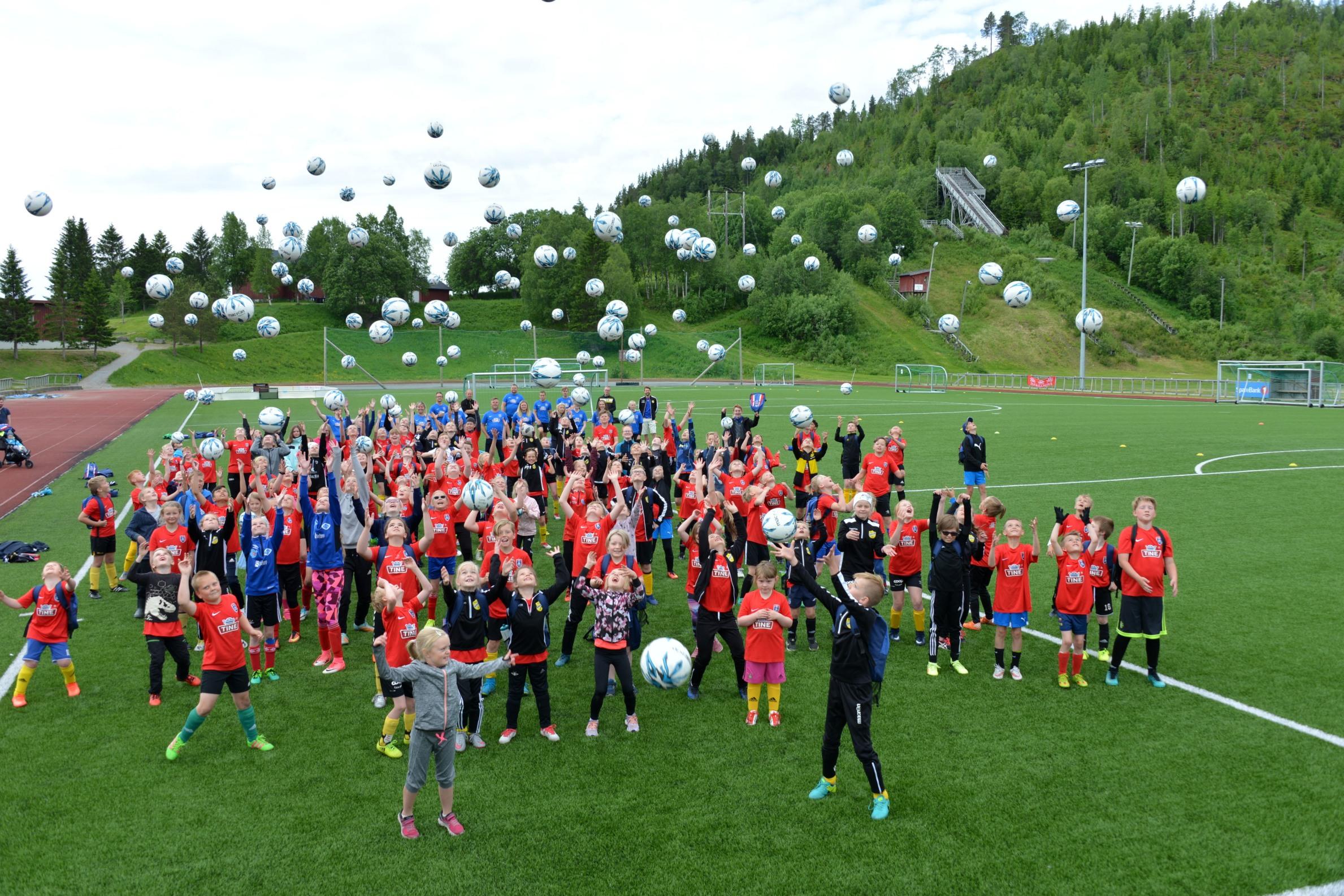 Velkommen til Tine fotballskole! Steinkjer Fotballklubb